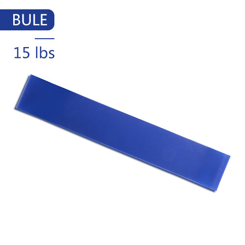 Yoga Elastic Exercise Band Alpha Limitless blue