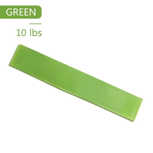 Yoga Elastic Exercise Band Alpha Limitless green