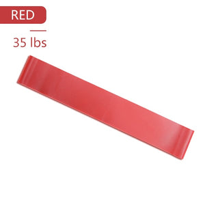 Yoga Elastic Exercise Band Alpha Limitless red