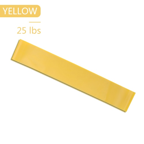 Yoga Elastic Exercise Band Alpha Limitless yellow