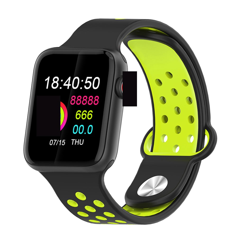 Fitness Smart Watch Alpha Limitless black black yellow