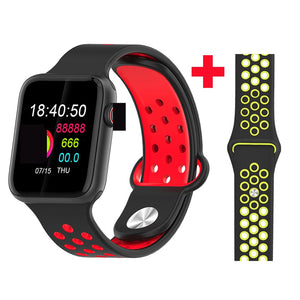 Fitness Smart Watch Alpha Limitless black red yellow