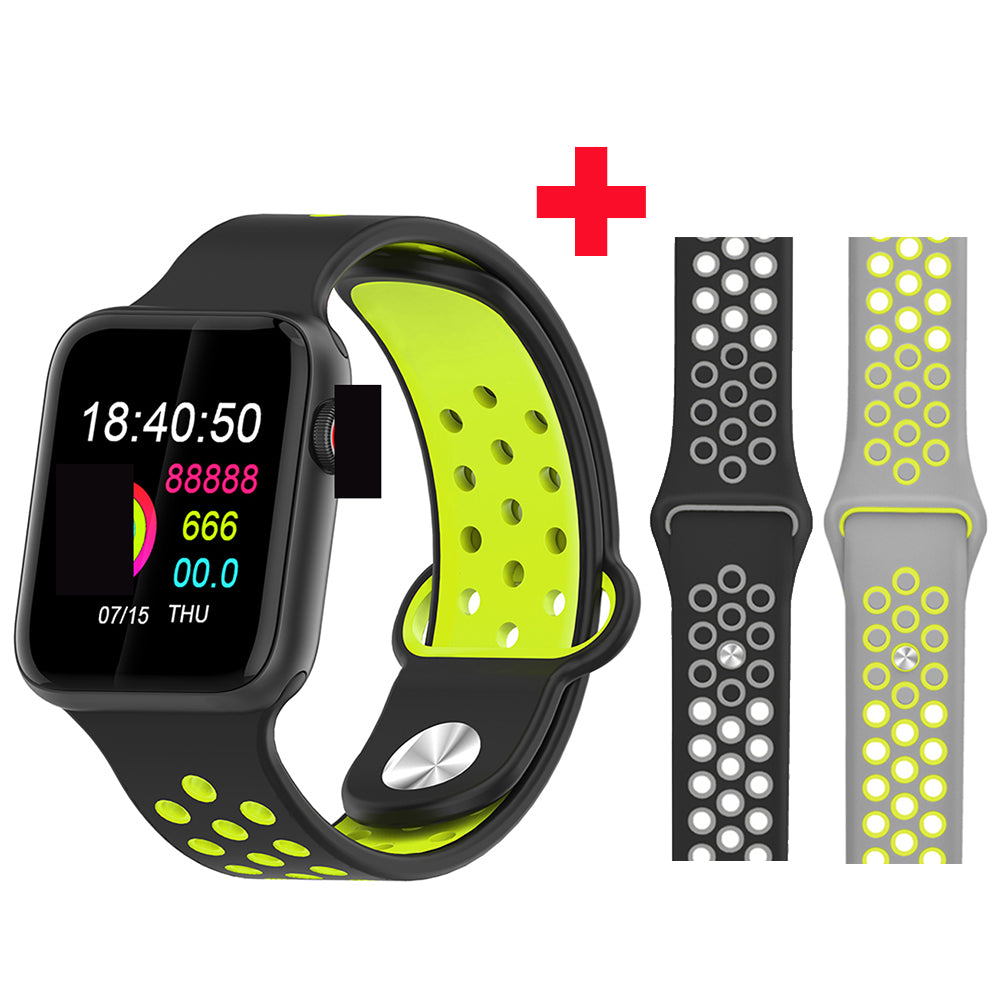 Fitness Smart Watch Alpha Limitless black yellow gray
