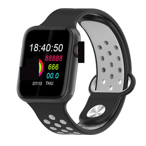 Fitness Smart Watch Alpha Limitless black black grey