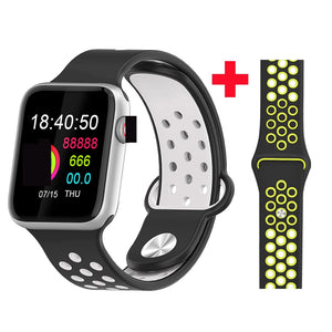 Fitness Smart Watch Alpha Limitless silver black yellows