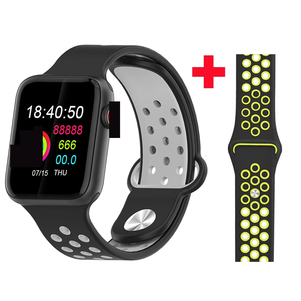 Fitness Smart Watch Alpha Limitless black black yellow s