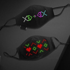 Bluetooth Programmable Party Mask Alpha Limitless