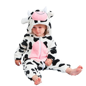 Alpha Animal Baby Romper Alpha Limitless cow / 3-6M