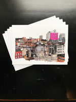 Set of 5 Glasgow Postcards / Mini Prints