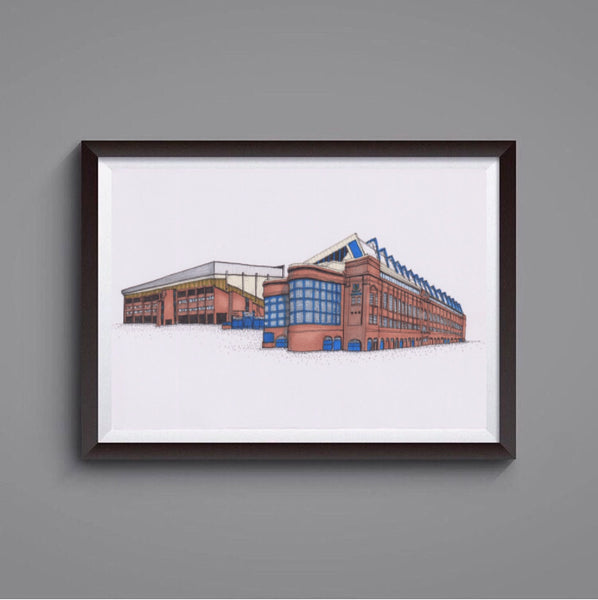 Ibrox Stadium prints
