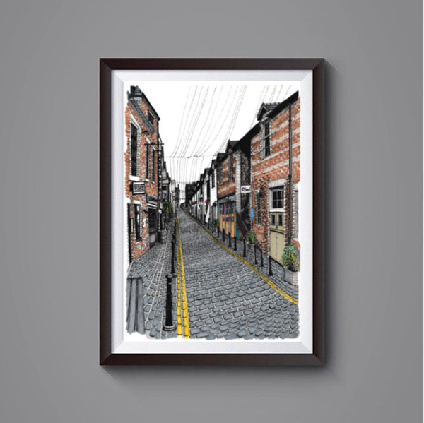 Ashton Lane, Glasgow prints
