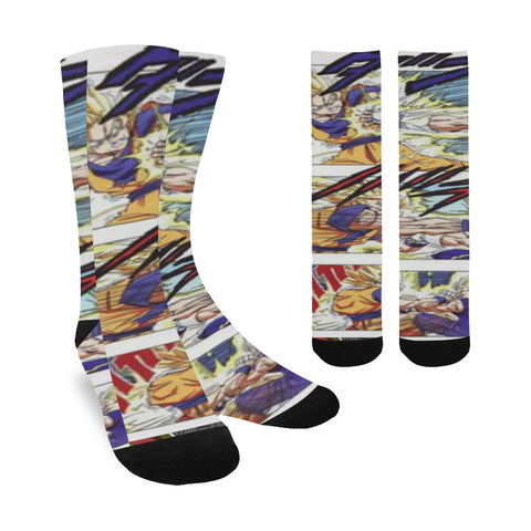 Majin vegeta vs Goku Socks