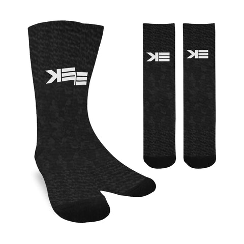 K3 black camo tiger Socks