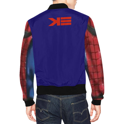 Spiderman bomber All Over Print Bomber Jacket for Men (Model H19)