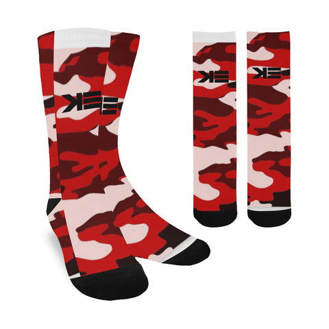 Red Camo Socks