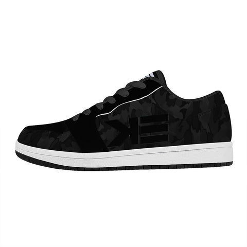 Eph6 Full Armor Black Camo Koncrete Eden Sneaker Black Low Top Leather Sneakers