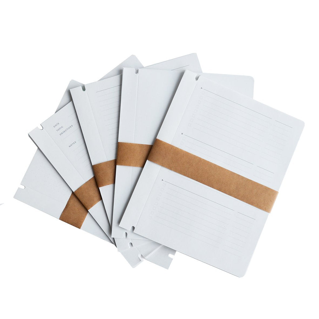 Gerecycled papier voor notebook