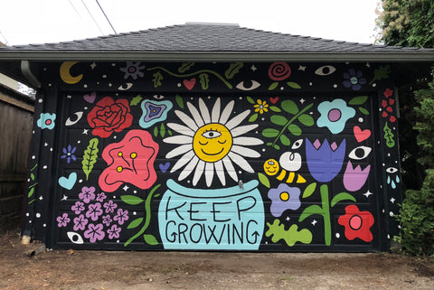 Keep Growing Mural