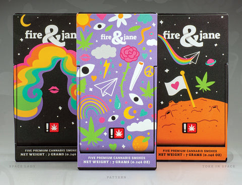 Fire n Jane Preroll Packs