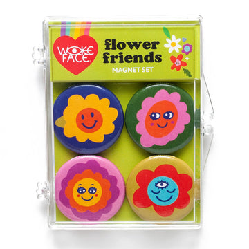Flower Friends Magnet Set