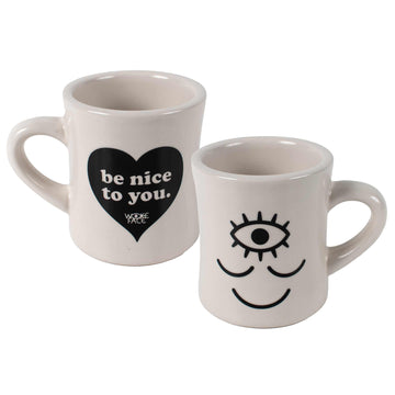 Wokeface / Be Nice to You Mug