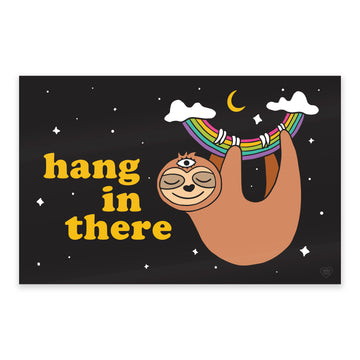 Sloth Hang in There Print