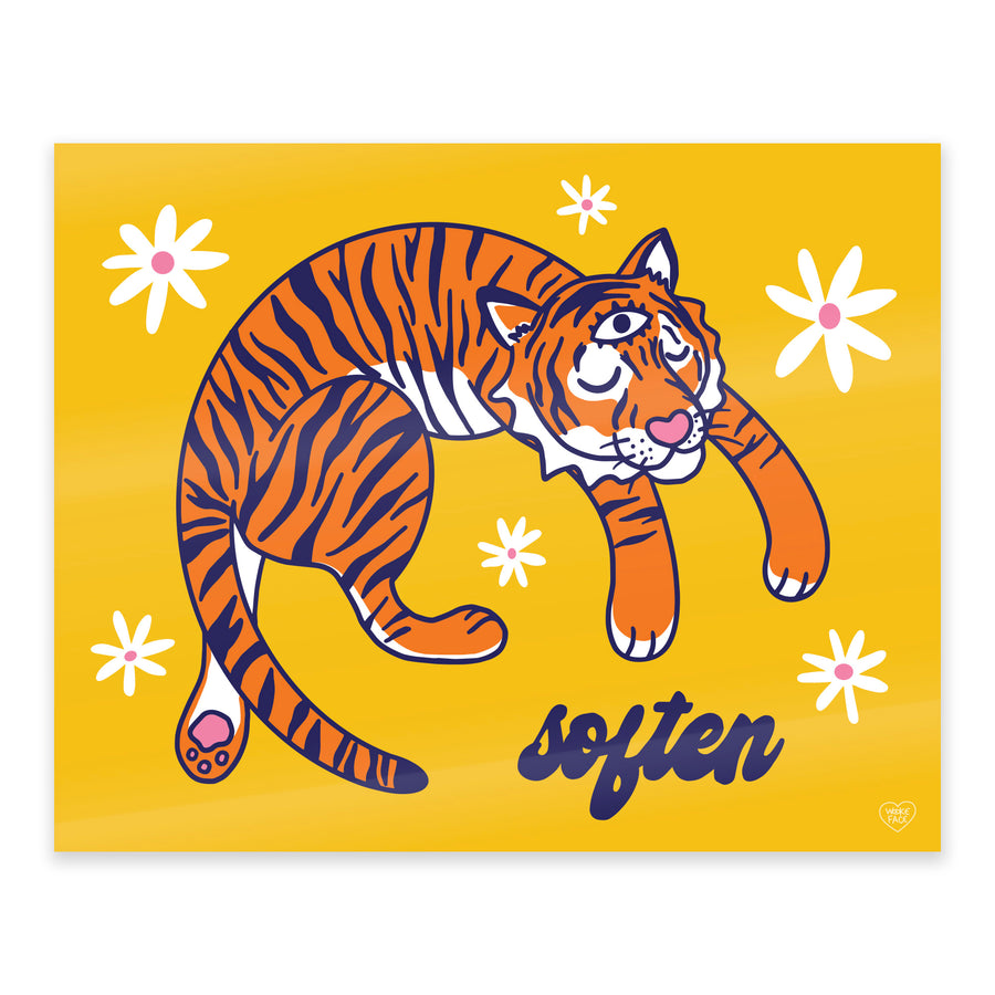Tiger Soften Print