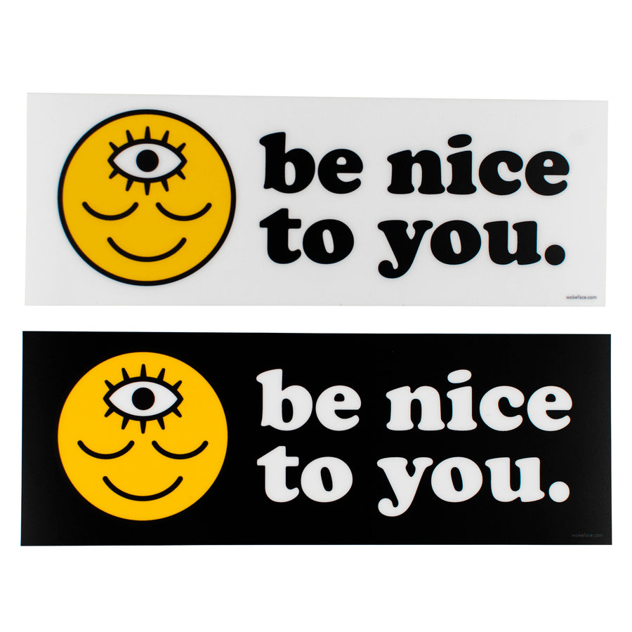 Be Nice to You Bumper Sticker