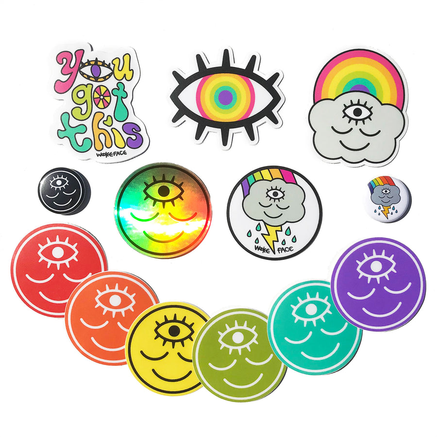 Rainbow Magic Mix Sticker Pack