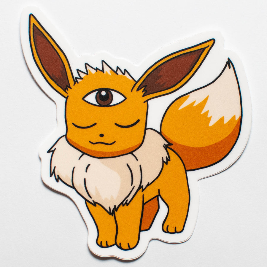 Woke Eevee Sticker