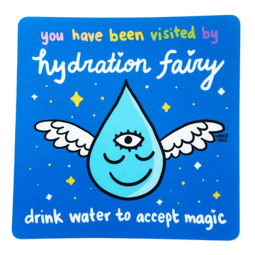 Hydration Fairy Sticker
