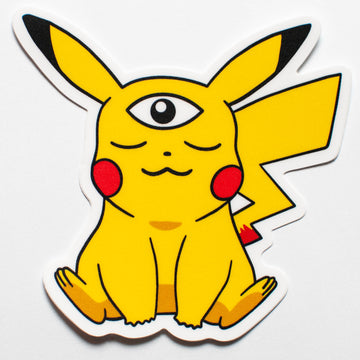 Woke Pikachu Sticker