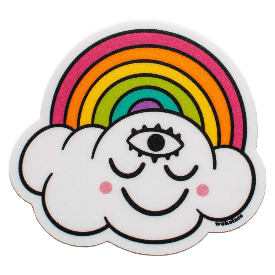 Rainbow Cloud II Sticker