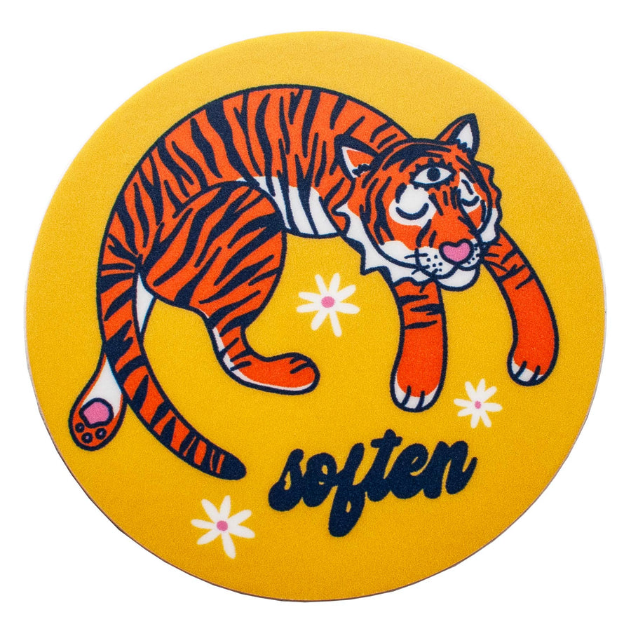 Tiger Soften Sticker
