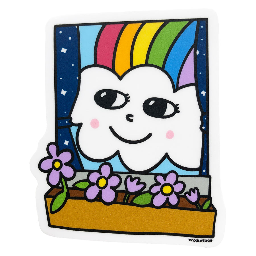 Rainbow Window Pal Sticker
