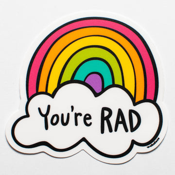 You're Rad Sticker