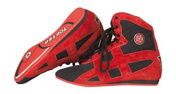 Boxing boots TOP TEN 2016 black / red