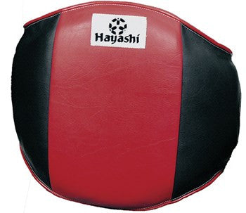Hayashi Belly Protector (Black/Red)
