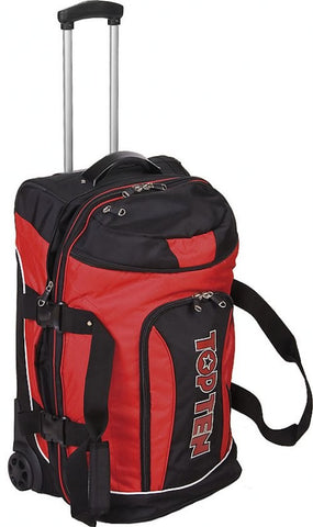 TOP TEN Trolley Deluxe Travel - Jumbo RED/BLACK