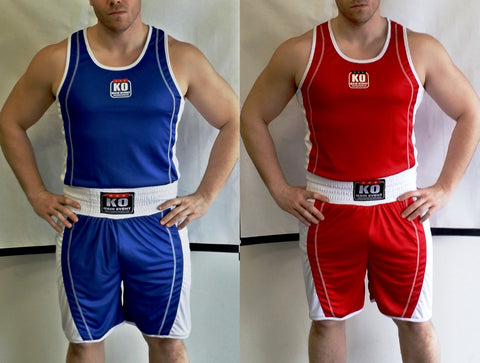 Reversible K.O. MAIN EVENT Boxing Trunks