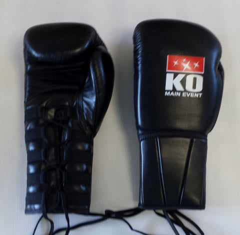 "K.O Main Event 10oz ""Quick Lace"" Boxing Glove"