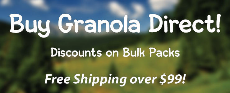 Buy Granola Direct! Discounts on Bulk Packs!