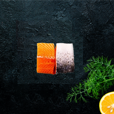 Closy Market - Salmon Skin On (2 x 140g-170g portions)