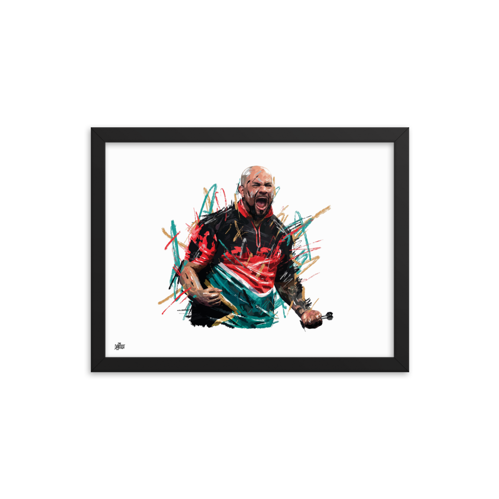 Devon Petersen Print - The Dartist