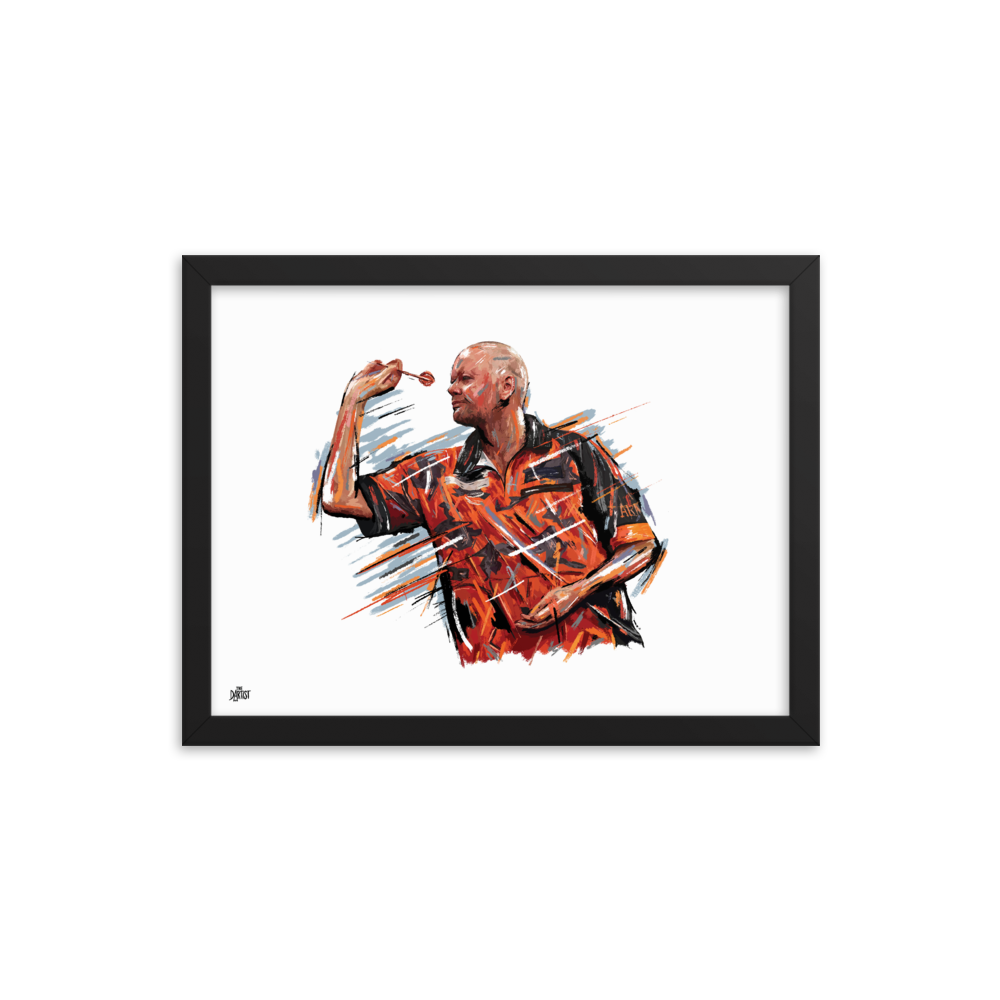 Raymond van Barneveld Print - The Dartist