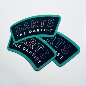 Dartist Holographic Stickers - The Dartist