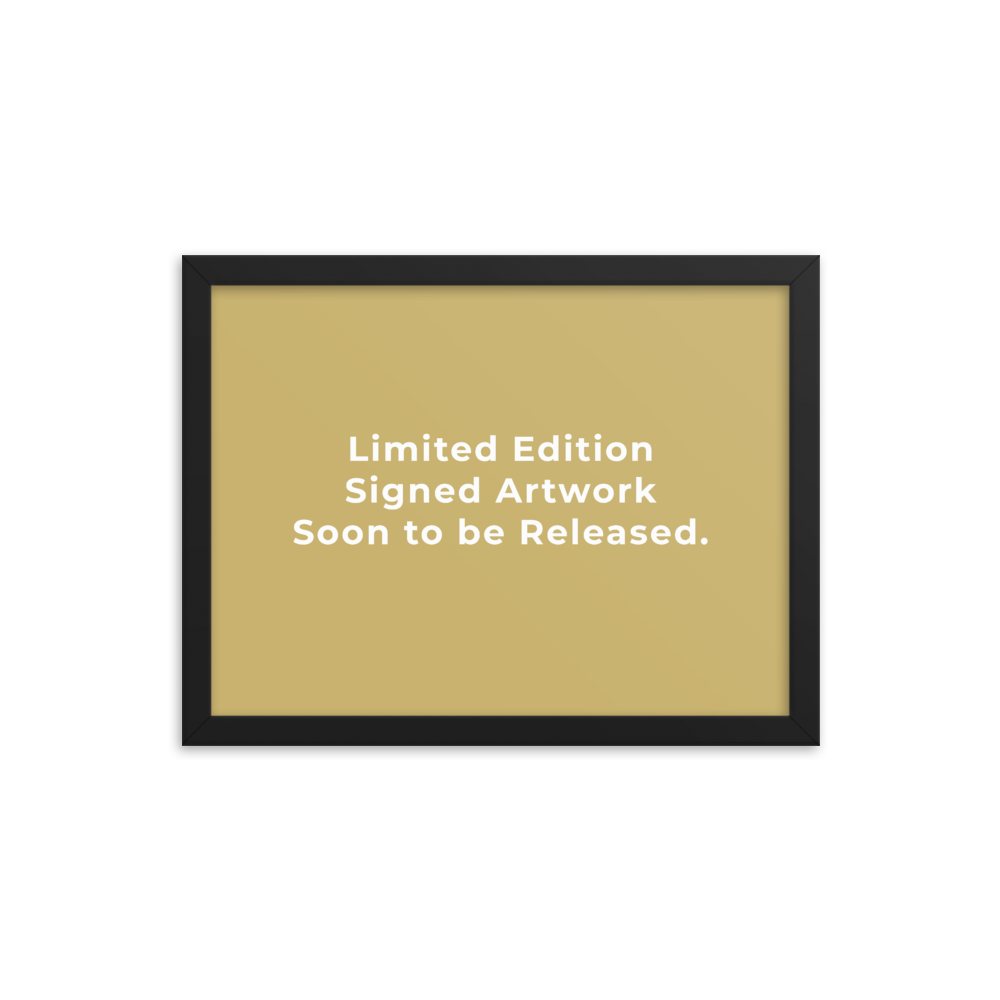 Limited Edition Signed Artwork - The Dartist