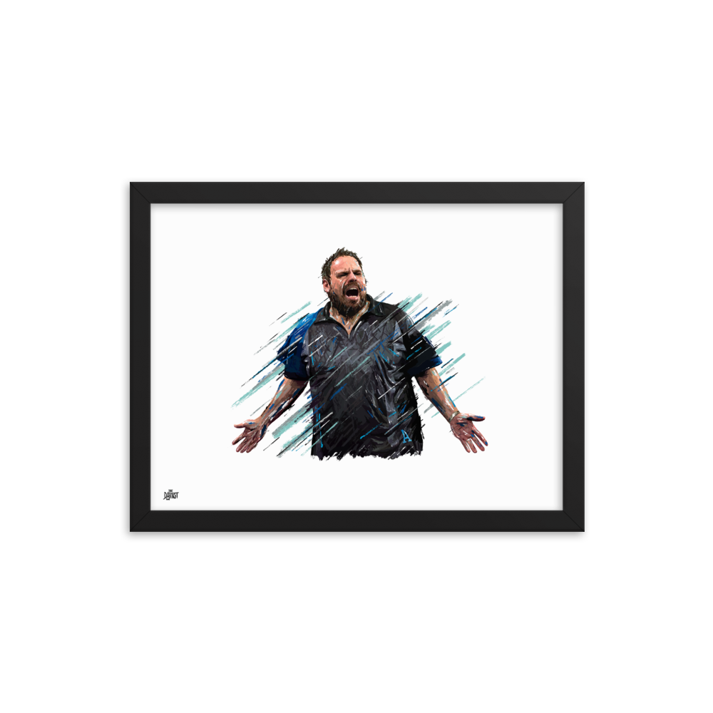 Adrian Lewis Print - The Dartist
