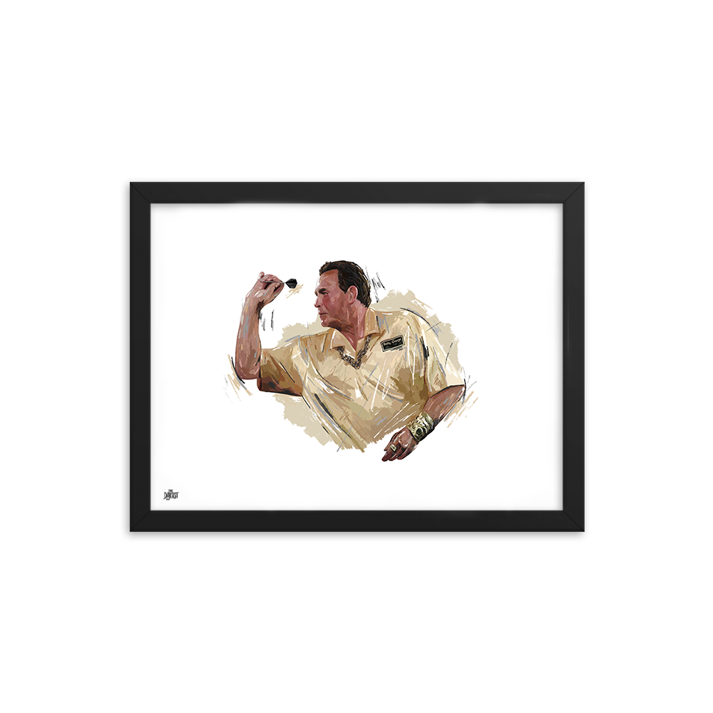 Bobby George Print - The Dartist