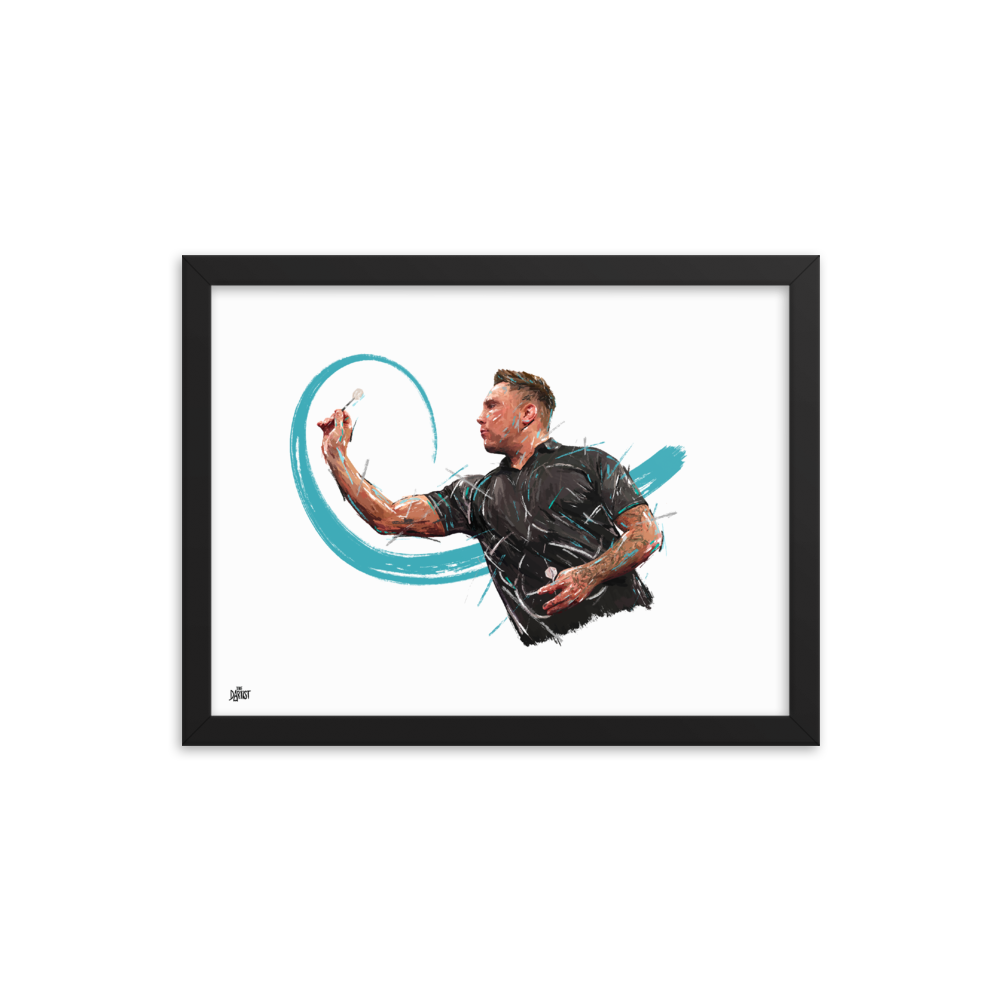 Gerwyn Price Print - The Dartist